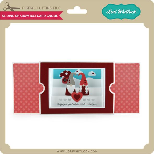 Sliding Shadow Box Card Gnome