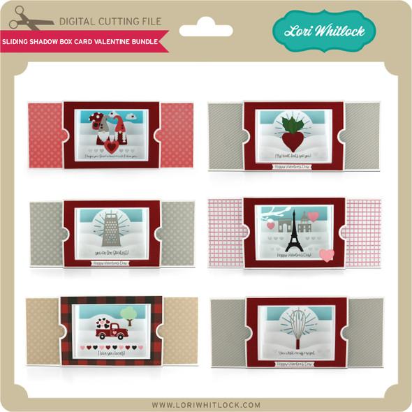 Sliding Shadow Box Card Valentine Bundle