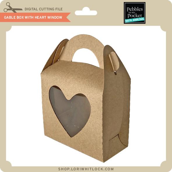 Gable Box with Heart Window