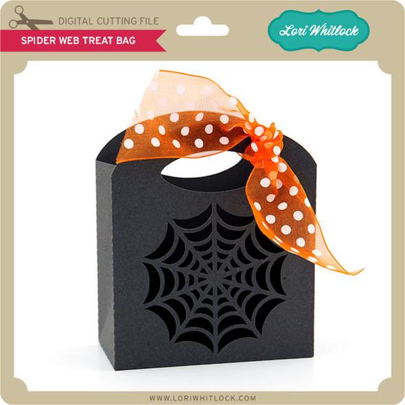 Spider Web Treat Bag