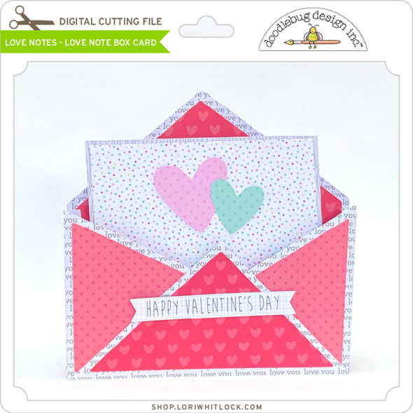 Love Notes-Love Note Box Card