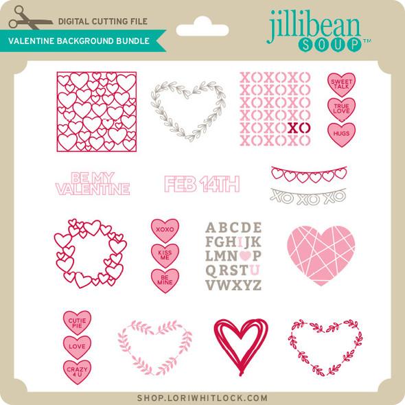 Valentine Background Bundle