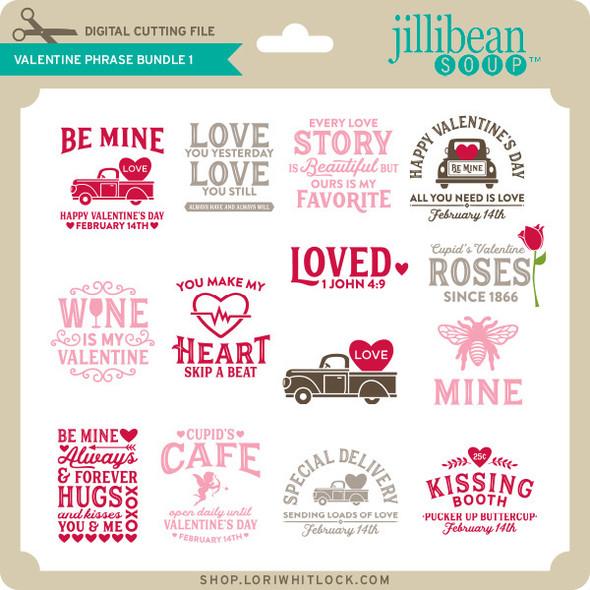 Valentine Phrase Bundle 1