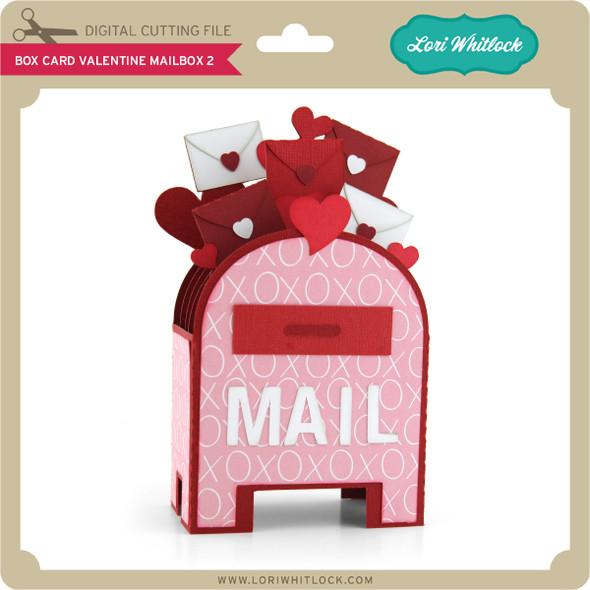 Box Card Valentine Mailbox 2
