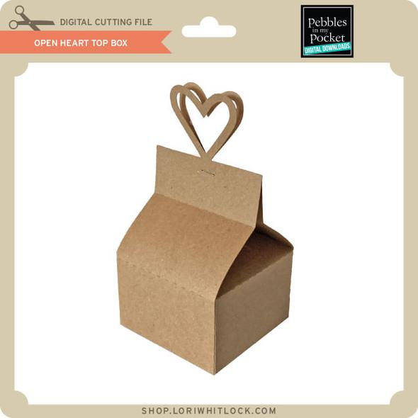 Open Heart Top Box