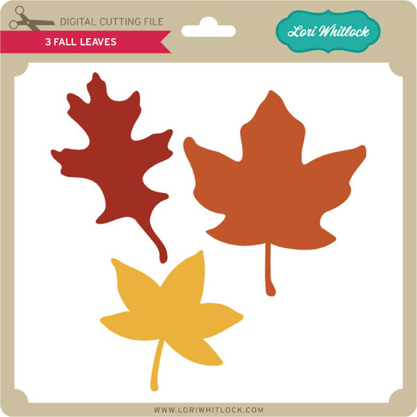 3 Fall Leaves