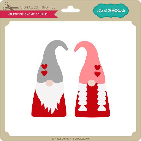 Valentine Gnome Couple