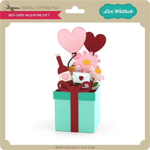 Box Card Valentine Gift