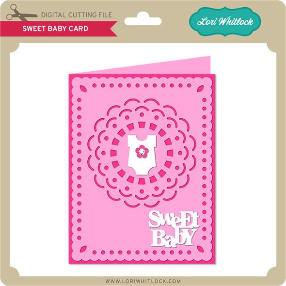 Sweet Baby Card