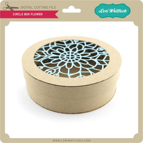 Circle Box Flower