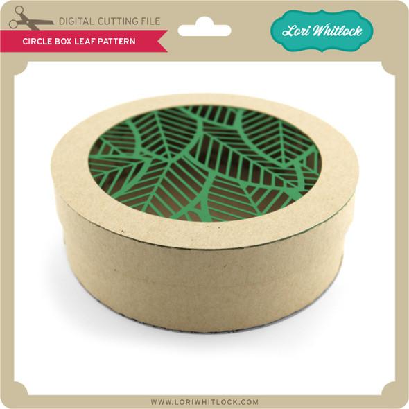 Circle Box Leaf Pattern