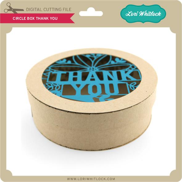 Circle Box Thank You