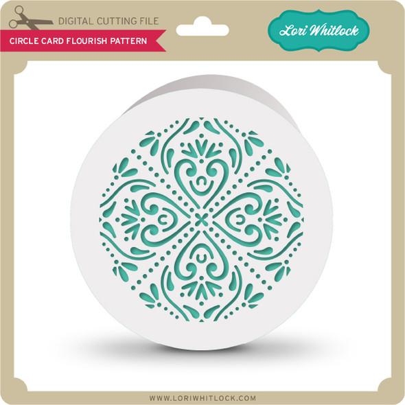 Circle Card Flourish Pattern