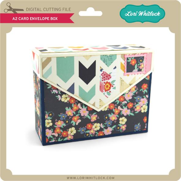 A2 Card Envelope Box