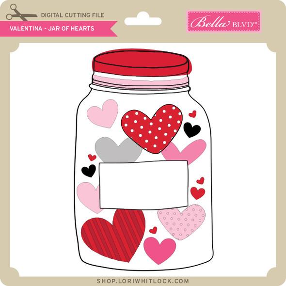 Valentina Jar of Hearts
