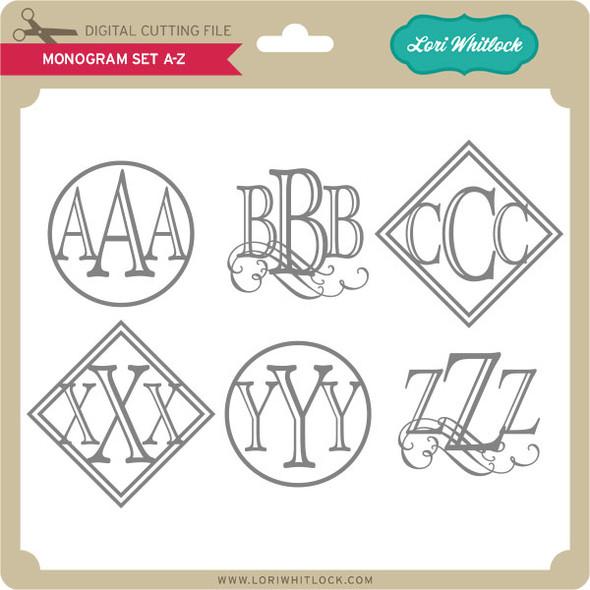 Monogram Set A-Z
