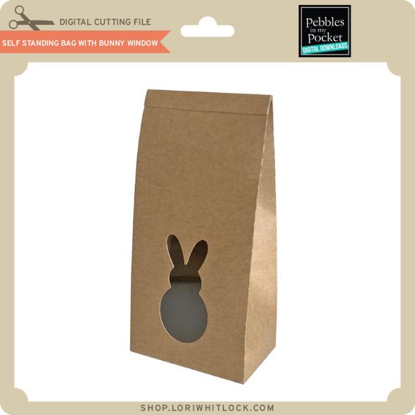 Self Standing Bag with Bunny Window