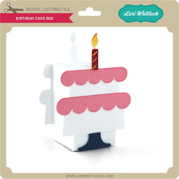 Birthday Cake Box 2