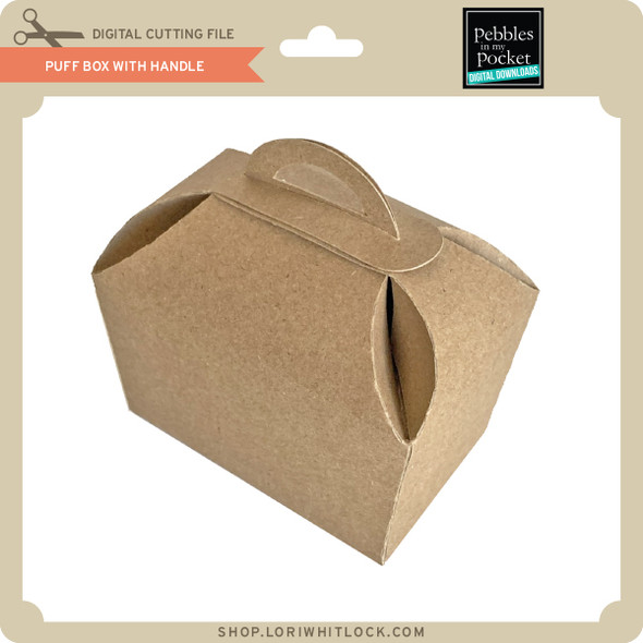 Puff Box with Handle
