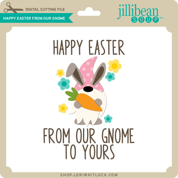 Happy Easter From Our Gnome