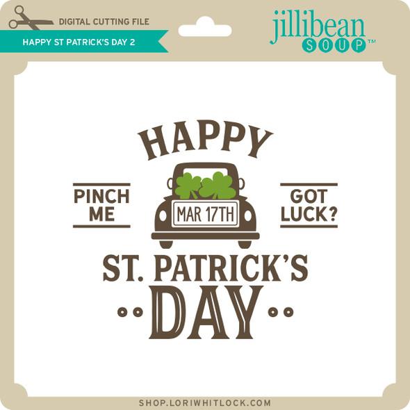 Happy St Patrick's Day 2