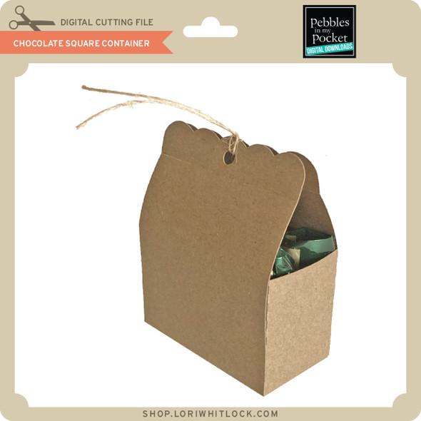 Chocolate Square Container