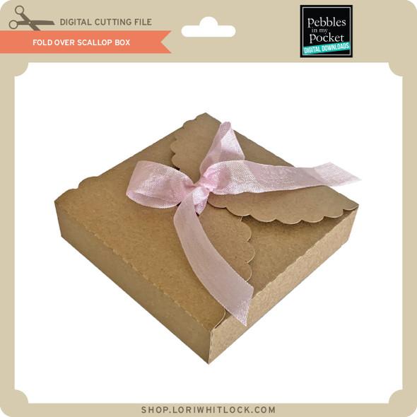 Fold Over Scallop Box