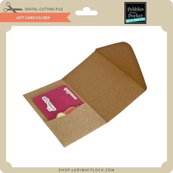 Gift Card Folder