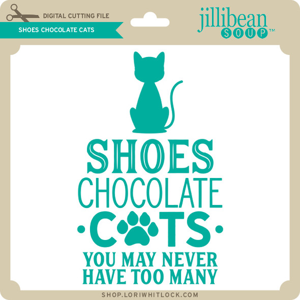 Shoes Chocolate Cats