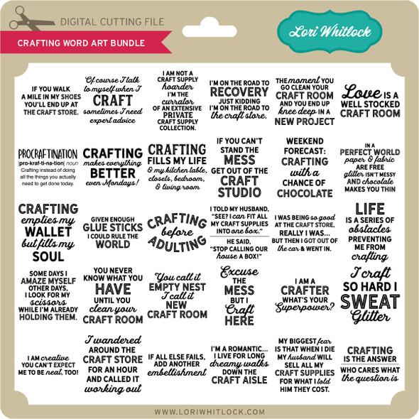 Crafting Word Art Bundle