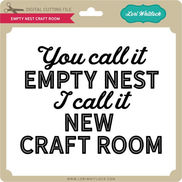 Empty Nest Craft Room