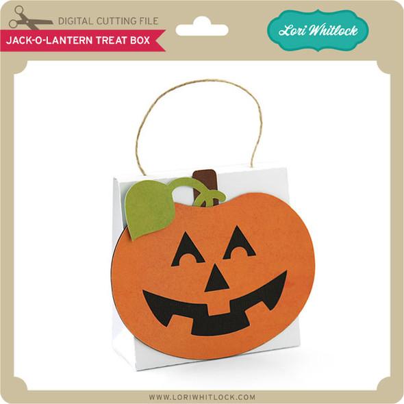 Jack-O-Lantern Treat Box 2