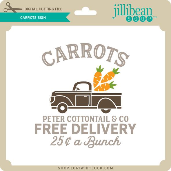 Carrots Sign