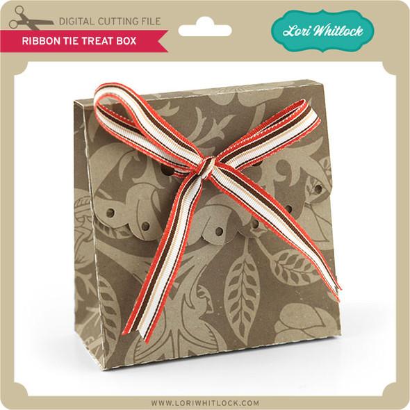 Ribbon Tie Treat Box