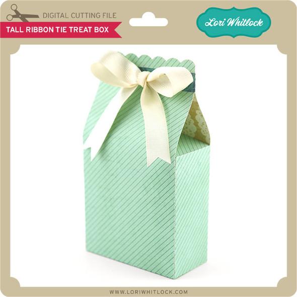 Tall RIbbon Tie Treat Box