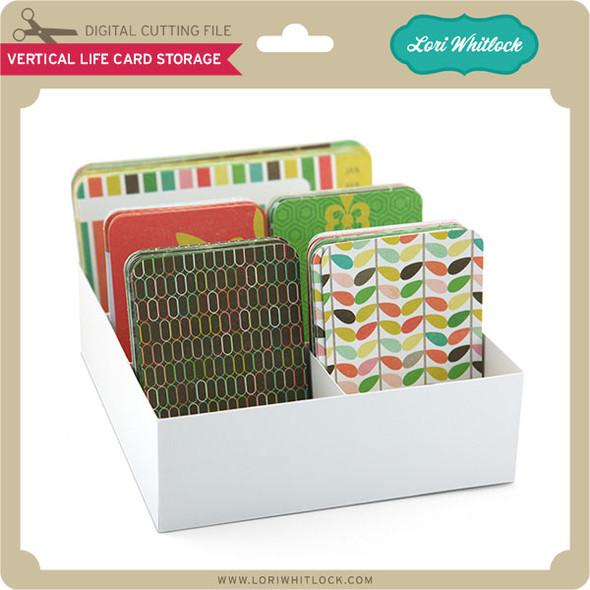 Vertical Life Card Storage