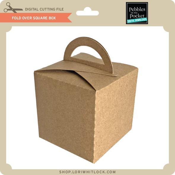 Fold Over Square Box
