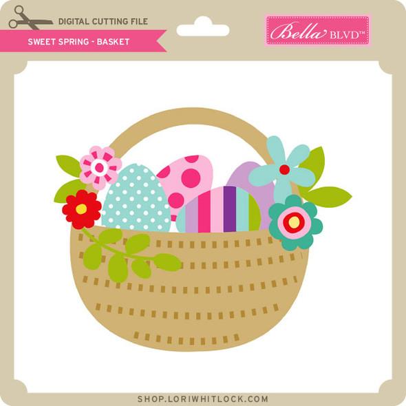 Sweet Spring - Basket