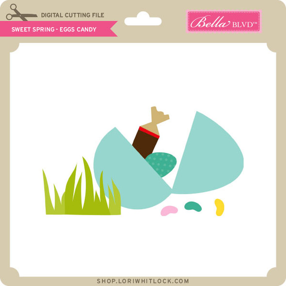 Sweet Spring - Eggs Candy