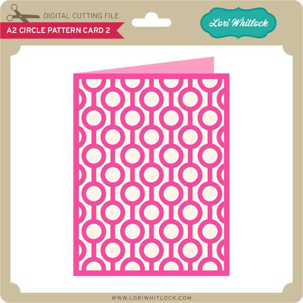 A2 Circle Pattern Card 2