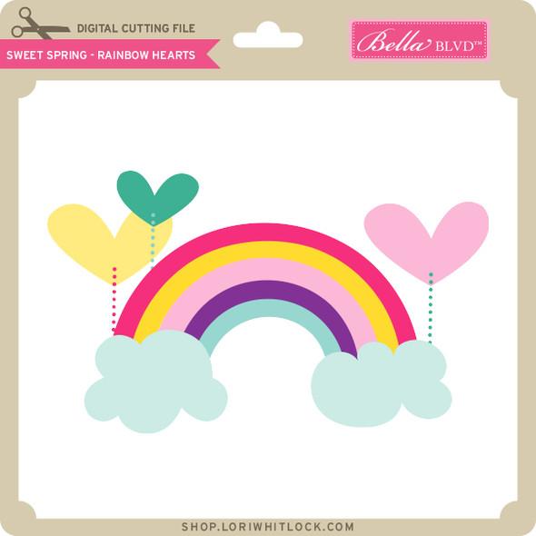 Sweet Spring - Rainbow Hearts