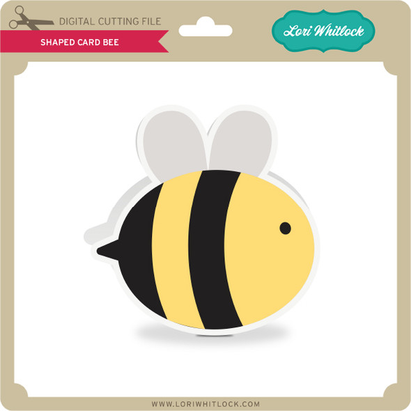 Shaped Card Bee