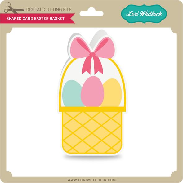 Shaped Card Easter Basket