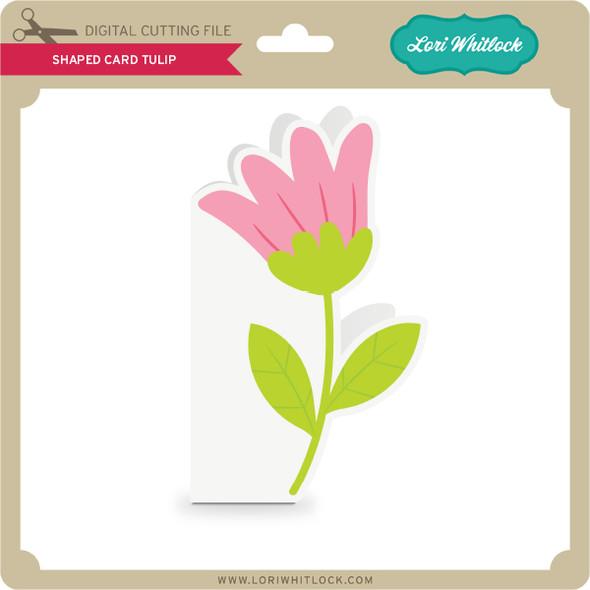 Shaped Card Tulip