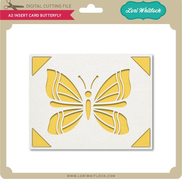 A2 Insert Card Butterfly
