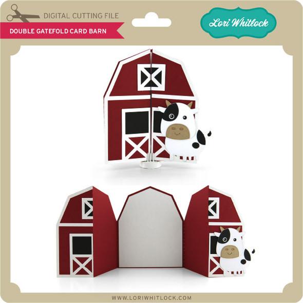 Double Gatefold Card Barn