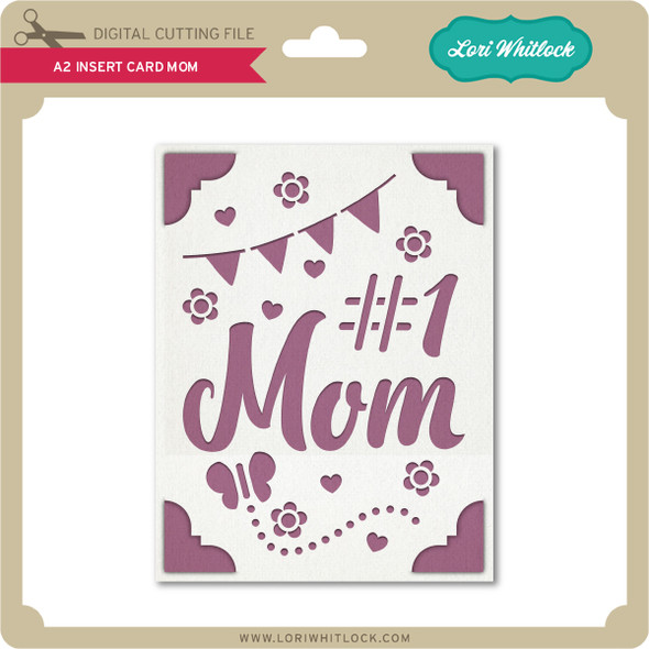 A2 Insert Card Mom
