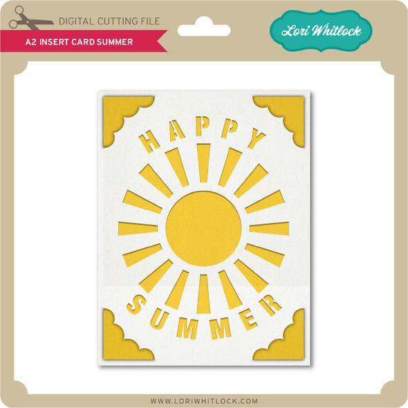 A2 Insert Card Summer