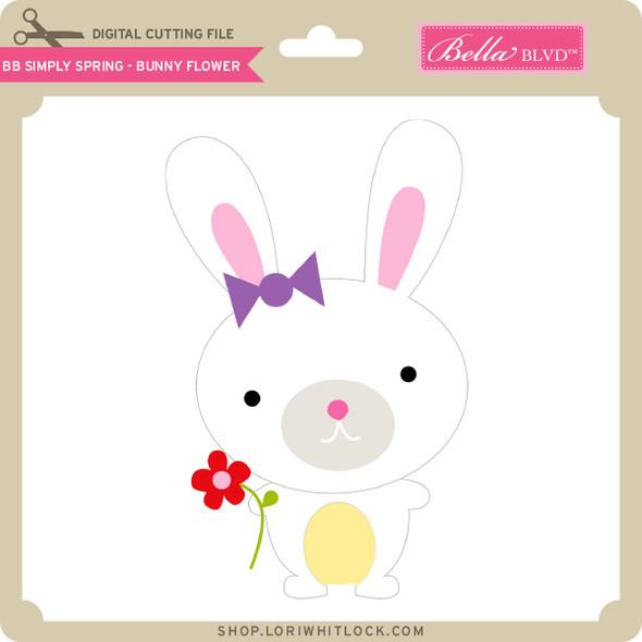 BB Simply  Spring - Bunny Flower
