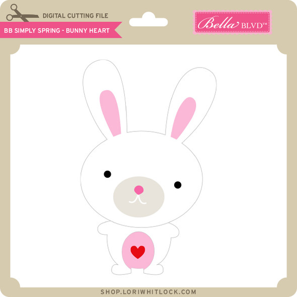 BB Simply Spring - Bunny Heart